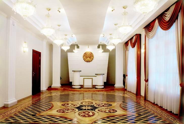 зал торжественных церемоний Железнодорожного ЗАГСа